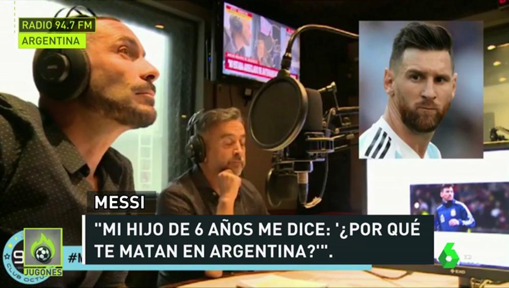 """Messi: """"Mi hijo me pregunta, ¿por qué te matan en Argentina, papi?"""""""