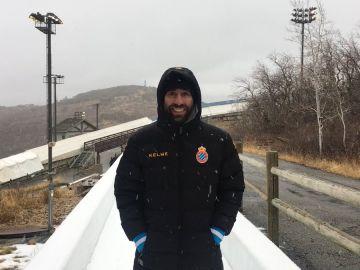 Ander Mirambell, olímpico español de Skeleton y seguidor 'perico'