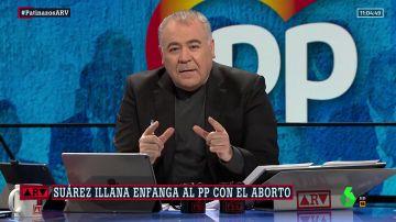 La reflexión de Ferreras sobre las polémicas palabras de Suárez Illana contra el aborto