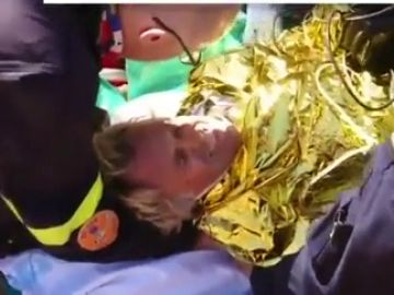 Salen a la luz las impactantes imágenes del rescate a Jesús Calleja tras sufrir un accidente
