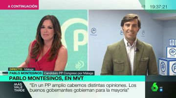 """Pablo Montesinos: """"No me gustan las palabras de Illana sobre el aborto, pero es importante que haya un PP abierto"""""""