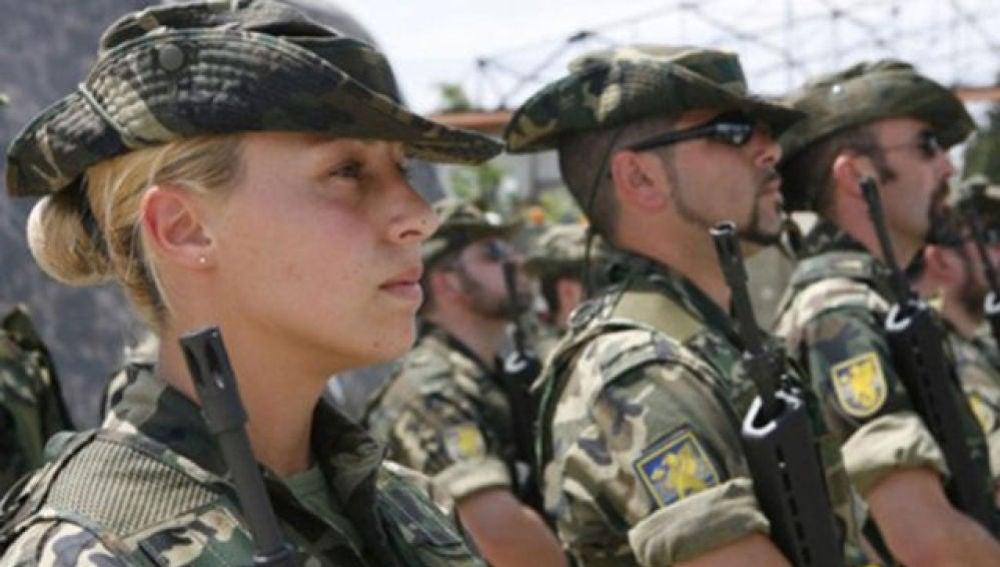 Miembro del ejército de tierra
