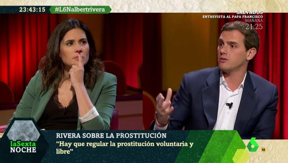 """Albert Rivera apuesta por regular la prostitución: """"Los casos que no sean delito hay que pedirles obligaciones y garantizar derechos"""""""
