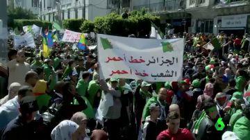 Nuevas protestas en Argelia contra el presidente Buteflika y el jefe del Ejército