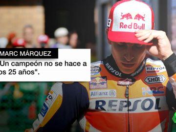 """Márquez y Rossi hablan tras la muerte de Marcos Garrido: """"Un campeón no se hace a los 25 años"""""""