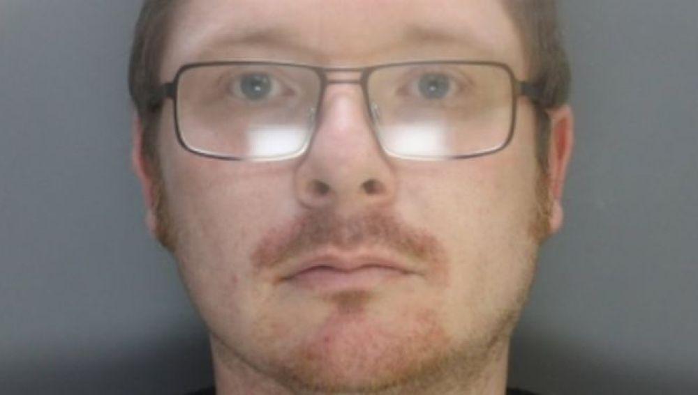 Imagen de David Daniel Hayes, el pedófilo condenado a 23 años de prisión en Reino Unido