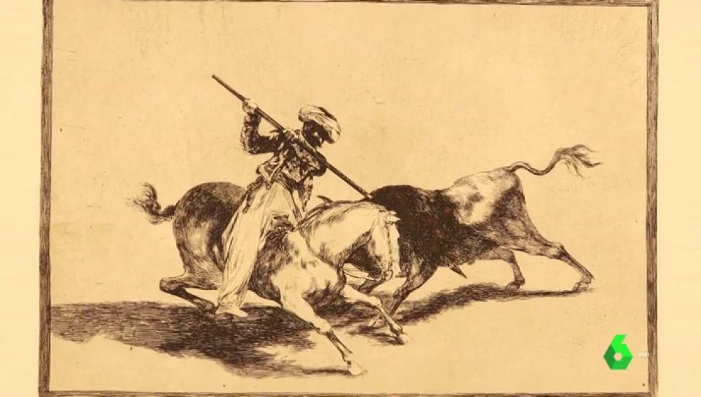 Piezas de Goya que se venden por Ebay