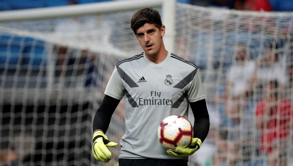 Courtois, jugador del Real Madrid