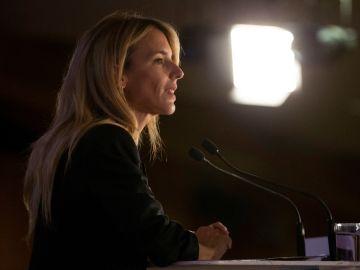 Cayetana Álvarez de Toledo número uno por el PP en Barcelona, durante el acto de presentación de listas del PPC a las Elecciones Generales del 28A