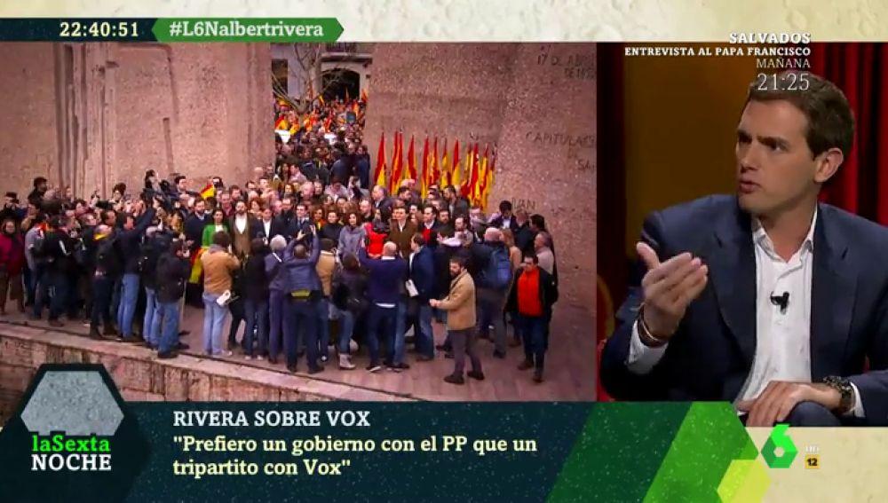 Derechos LGTBI, gestación subrogada o armas: estas son las diferencias de Ciudadanos y Vox para Albert Rivera