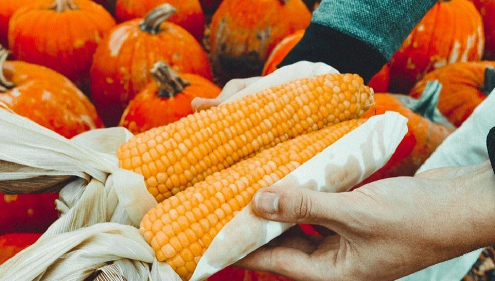 Imagen de archivo de alimentos ecológicos