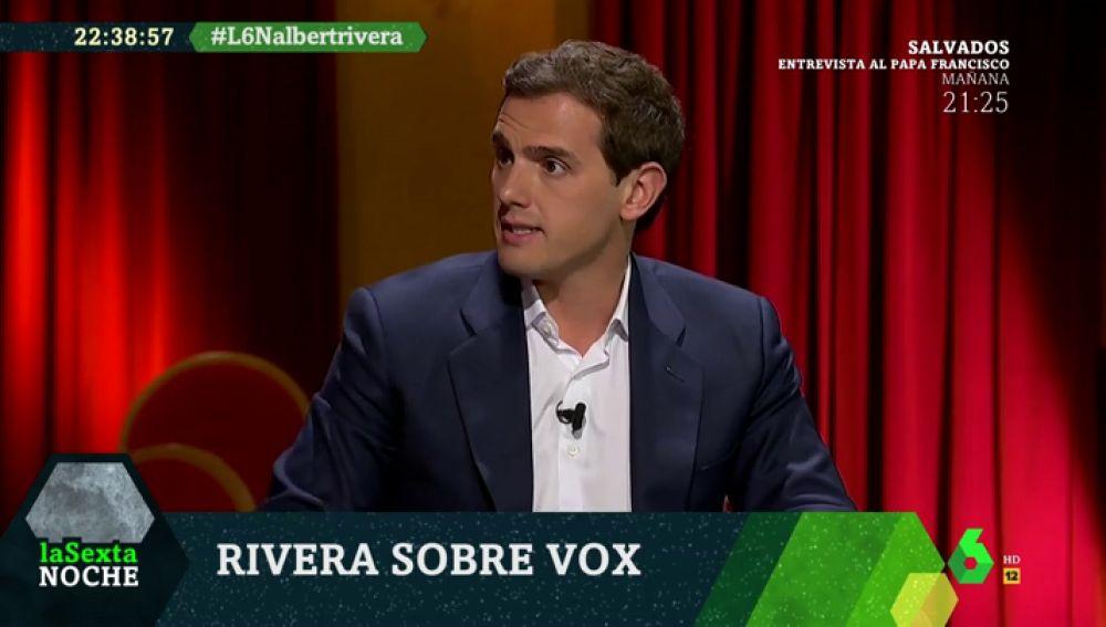 """Albert Rivera apuesta por gobernar con el PP sin Vox: """"Es más sensato un Gobierno estable que un tripartito"""""""