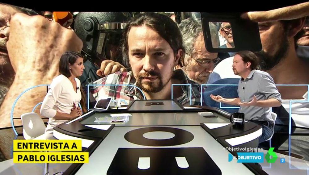 """Tensión entre Ana Pastor y Pablo Iglesias por las presiones de Podemos: """"Usted sabe lo que ocurre cuando señala públicamente a periodistas"""""""