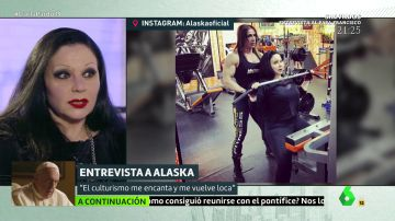 """Las pasiones de Alaska: """"La carrera de historia y entrenar para un campeonato de culturismo"""""""