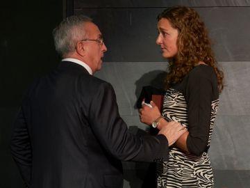 Alejandro Blanco, con Anna Boada