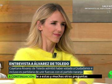 """Tensión entre Cayetana Alvarez de Toledo y Cristina Pardo: """"¿Usted quiere plantearle a Casado que me expediente mañana?"""