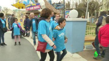 El Parque Warner realiza un acto de sensibilización sobre el autismo