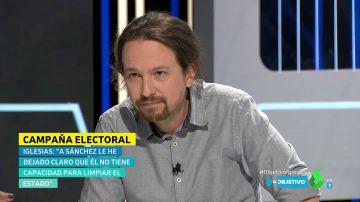 """La pregunta sobre las cloacas del Estado que Pablo Iglesias """"no"""" puede """"contestar"""""""