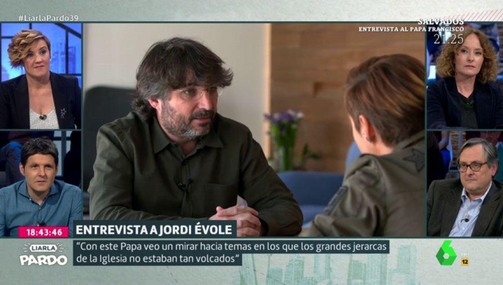 ¿Es Francisco un papa 'progre'?, Jordi Évole lo desvela tras su entrevista en Salvados