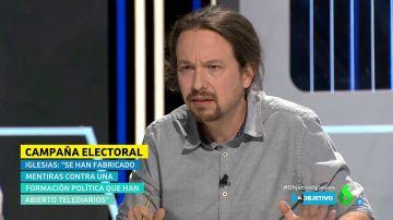 """Pablo Iglesias ataca al PSOE: """"Si no formamos parte del Gobierno las cloacas seguirán existiendo"""""""