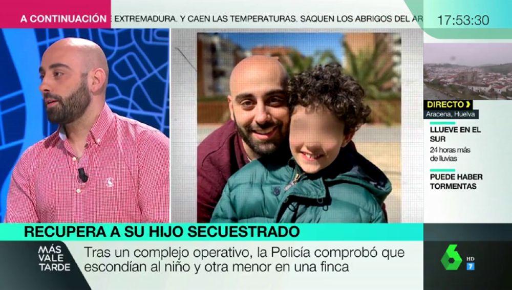 """Habla el padre de Samuel, el pequeño secuestrado por su madre: """"Estoy sorprendido, es un niño muy abierto y cariñoso"""""""