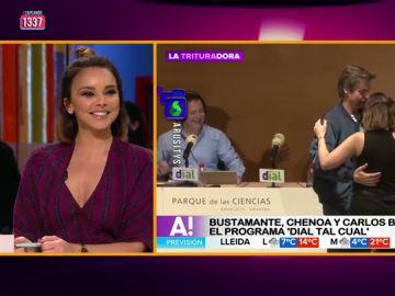 """Chenoa se pronuncia sobre su """"tonteo"""" con Carlos Baute: """"Le conozco desde hace 18 años y tenemos confianza para bailar así"""""""