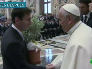 El papa Francisco y Messi, dos argentinos con vidas muy unidas