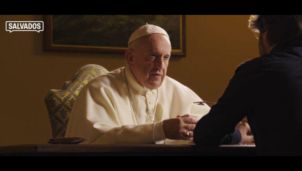 El papa Francisco responde en Salvados: seis minutos que resumen la primera entrevista de Jordi Évole en El Vaticano