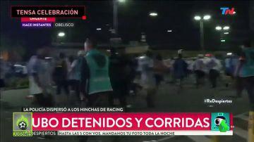 Graves incidentes en la celebración de la Superliga de Racing de Avellaneda