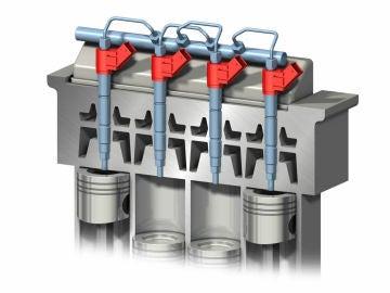 Inyectores motor diésel