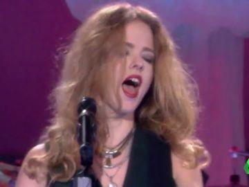 Christina Rosenvinge durante un concierto