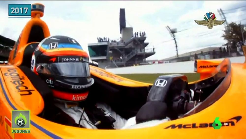 Fernando Alonso ya prepara su asalto a la Triple Corona con los primeros test de Indanápolis