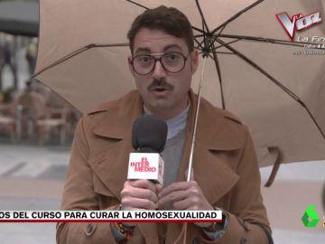 """El Intermedio contacta con los alumnos de los cursos para curar la homosexualidad: """"Nos han mandado que veamos procesiones de Semana Santa"""""""