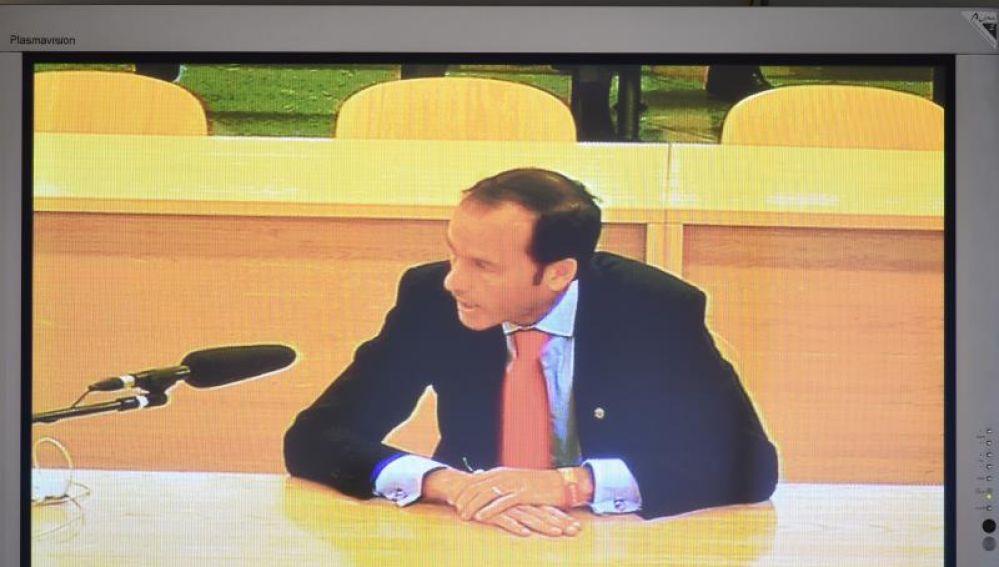 El inspector del Banco de España José Antonio Casaus