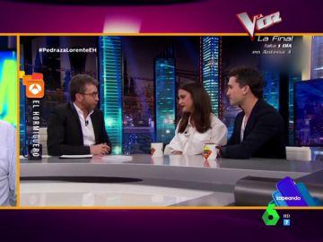 """El 'troleo' de María Pedraza y Jaime Lorente a Pablo Motos: """"Ahora que lo hemos dejado está feo contarte cómo nos conocimos"""""""