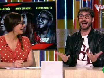 La imitación de Juanra Bonet a Ana Morgade que provoca las risas de todos los Zapeadores
