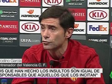 """Marcelino: """"Los que insultan son igual de responsables que aquellos que con sus declaraciones incitan a ellos"""""""