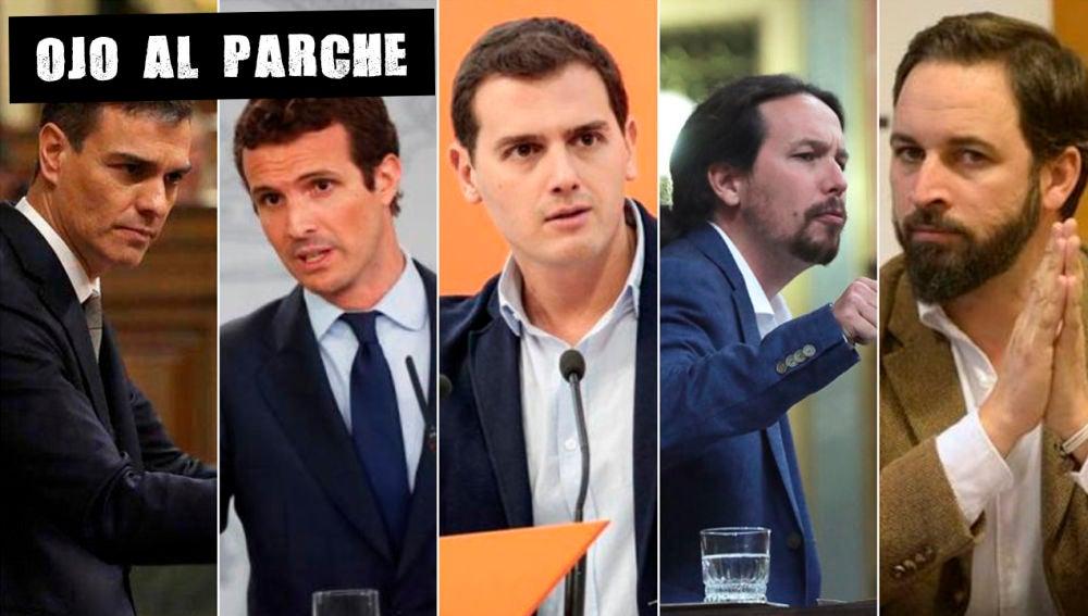 Candidatos a las elecciones