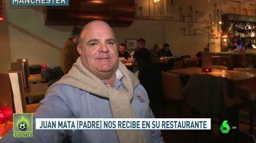 """El padre de Juan Mata, jefe del 'restaurante de las estrellas': """"Mi hijo puede volver a España"""""""