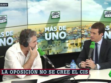 """Pablo Casado: """"El CIS lo tenía que haber pagado el PSOE porque es propaganda electoral"""""""