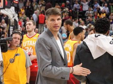 Kyle Korver, jugador de los Utah Jazz