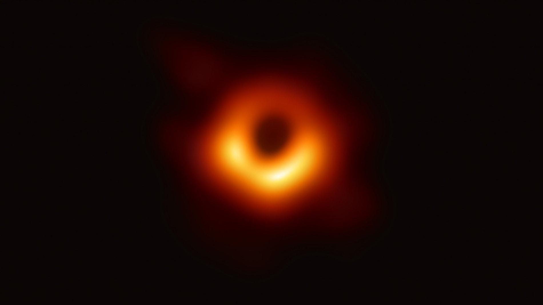 Primera fotografia de un agujero negro