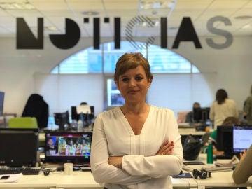 Esther Redondo, en la caravana electoral del PSOE