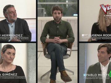 La entrevista de Gonzo a los fichajes de PP, PSOE, Podemos y Cs: ¿Están totalmente de acuerdo con las políticas de sus partidos?