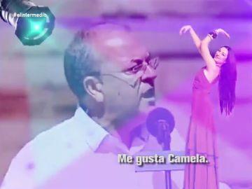 """""""Me gusta, me gusta, me gusta Camela"""": el divertido 'hit' de Monago sobre sus gustos musicales"""
