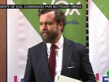 Espinosa de los Monteros (Vox), condenado por no haber pagado a la constructora que reformó su chalet de lujo