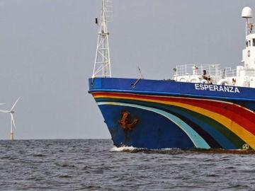 Barco 'Esperanza' de Greenpeace
