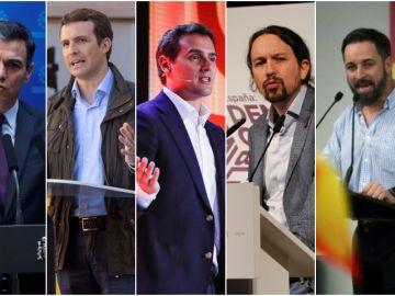Candidatos a las elecciones generales 10N