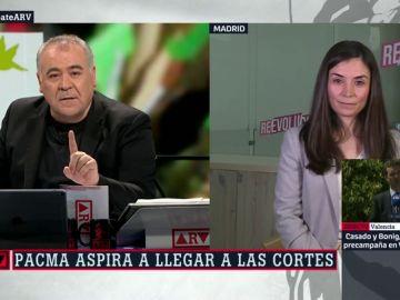 Laura Duarte, candidata de Pacma