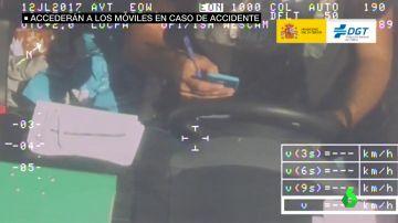 La Policía podrá registrar los móviles de las personas involucradas en accidentes de tráfico para investigar su posible relación